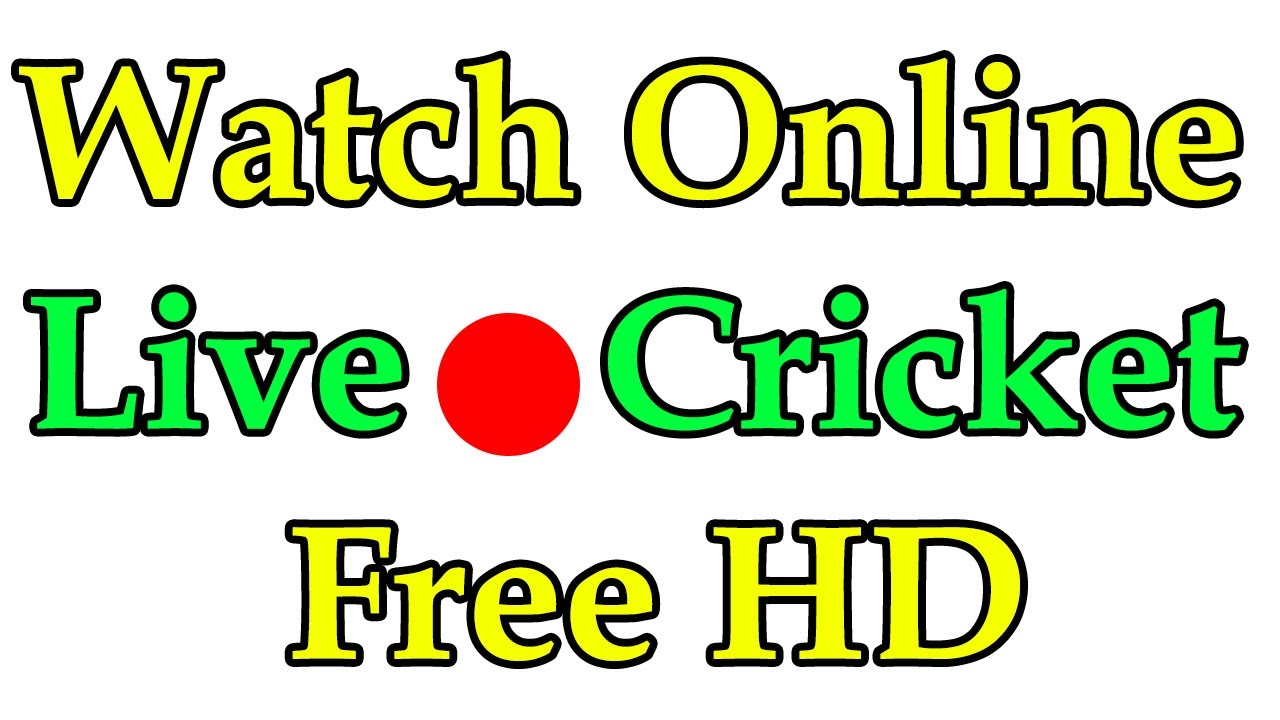 How To Watch Cricket Matches Online