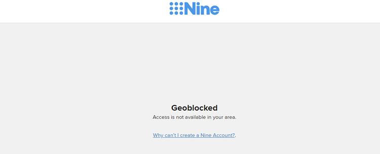 9now-geoblock-error