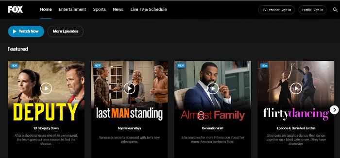 Watch FOX TV outside the US