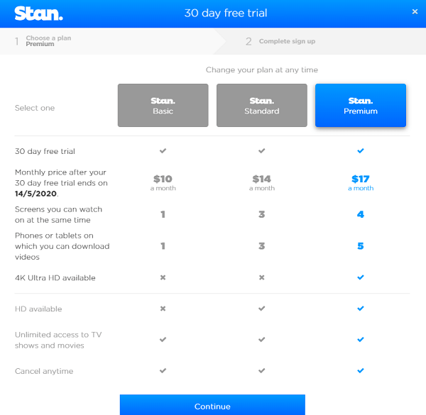 Stan-prices